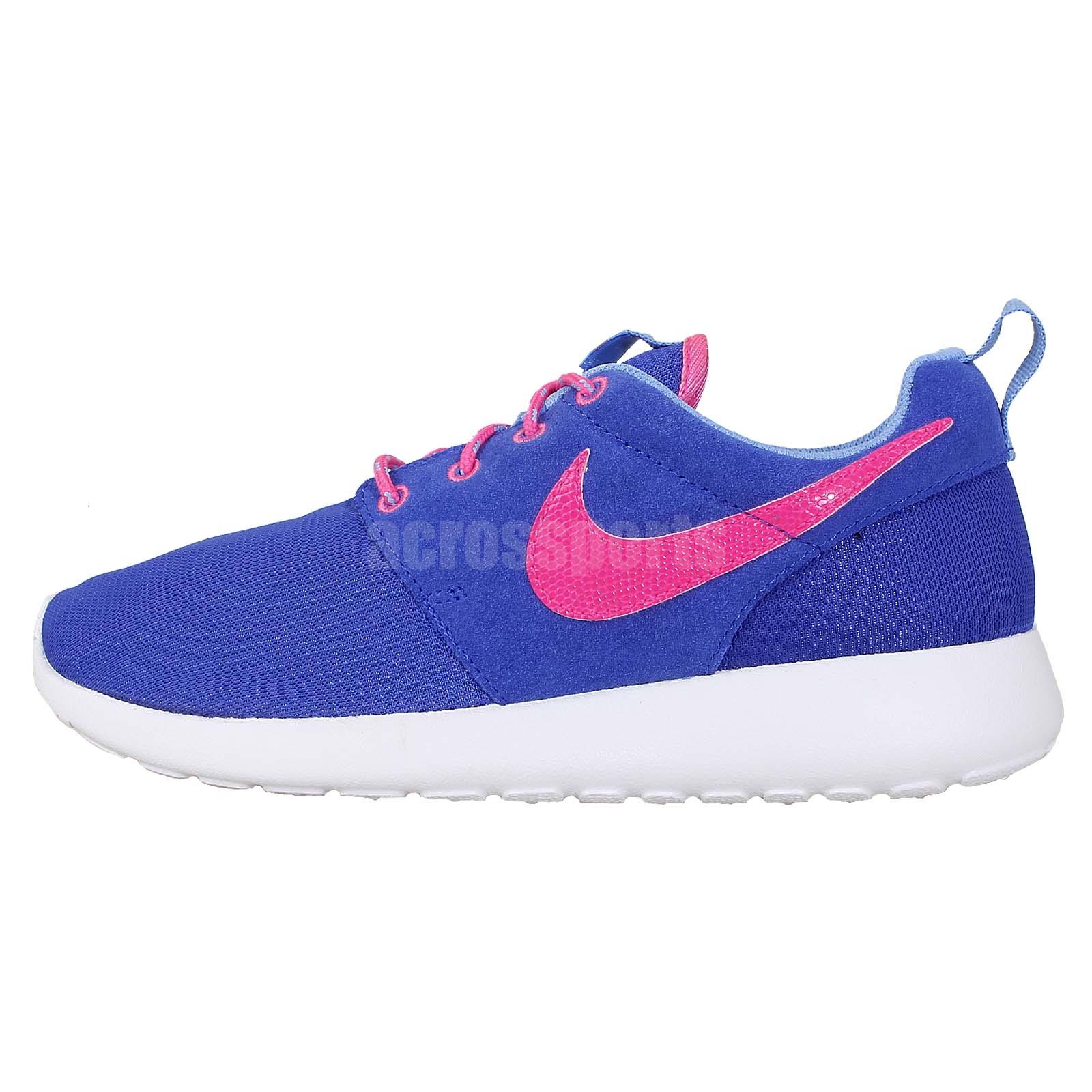 Details about Nike Rosherun GS Roshe Run Blue Pink 2014 Kids Girls