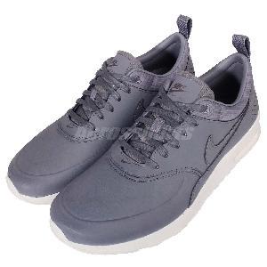 Wmns Nike Air Max Thea PRM Premium Cool Grey Womens Running Shoes 616723-008