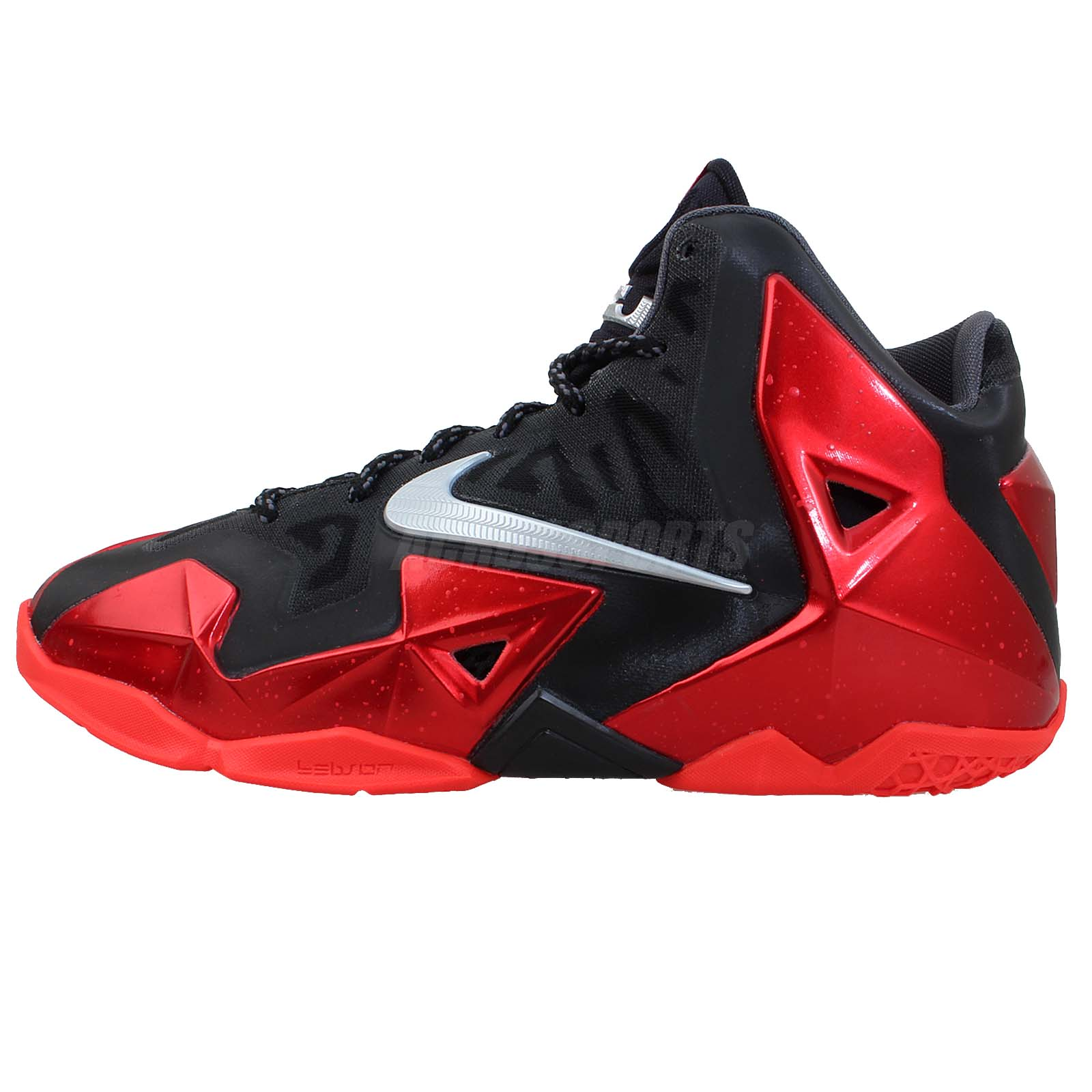 nike lebron xi 11 bred gs 2013 youth kids basketball shoes