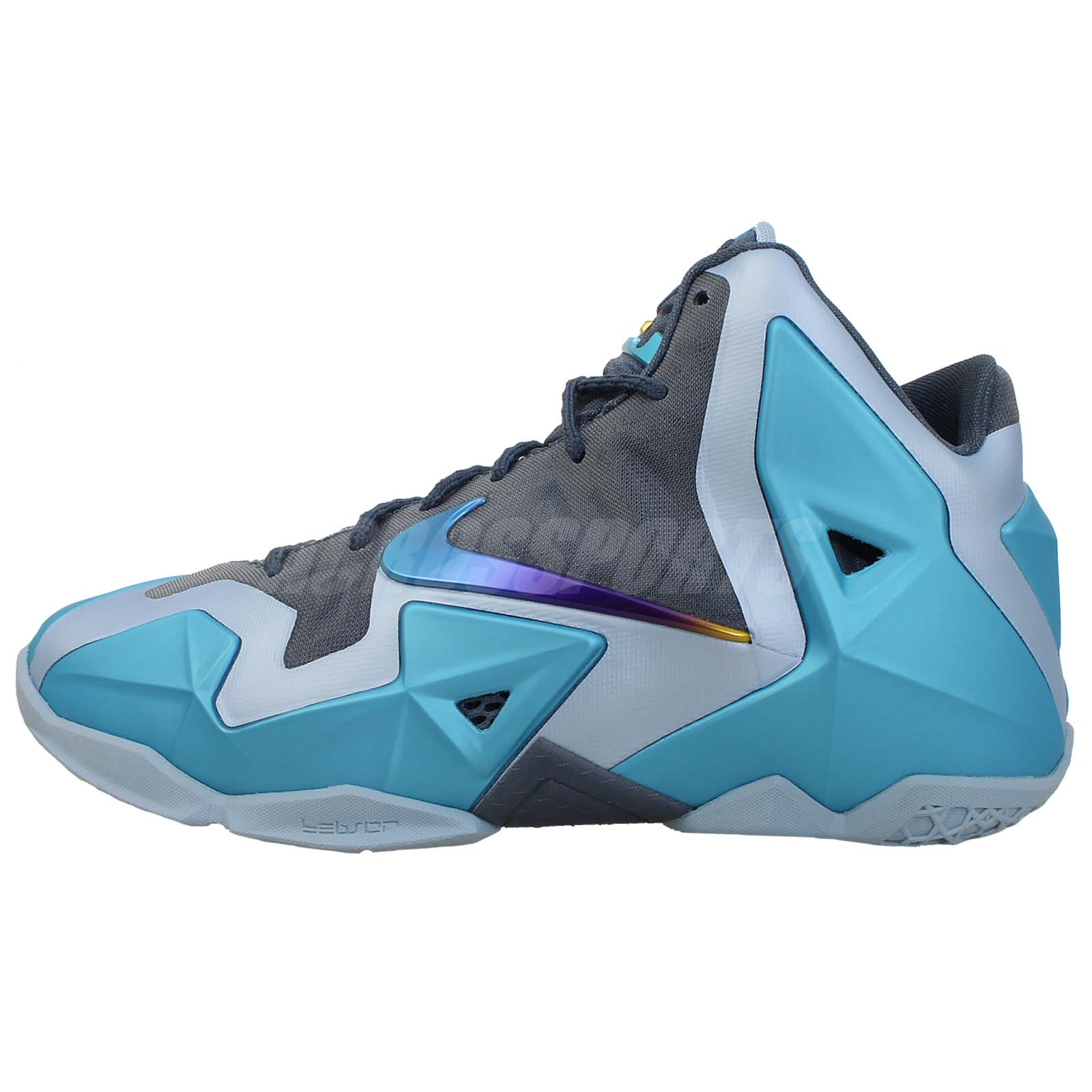 nike lebron xi 11 gs gamma blue 2013 boys