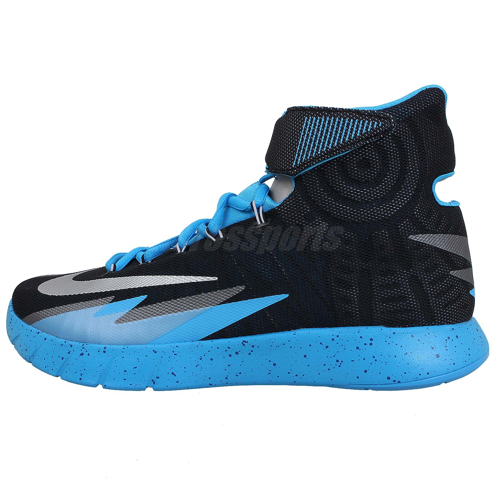 Nike Zoom Hyperrev Black Blue Silver 2014 Kyrie Irving ...