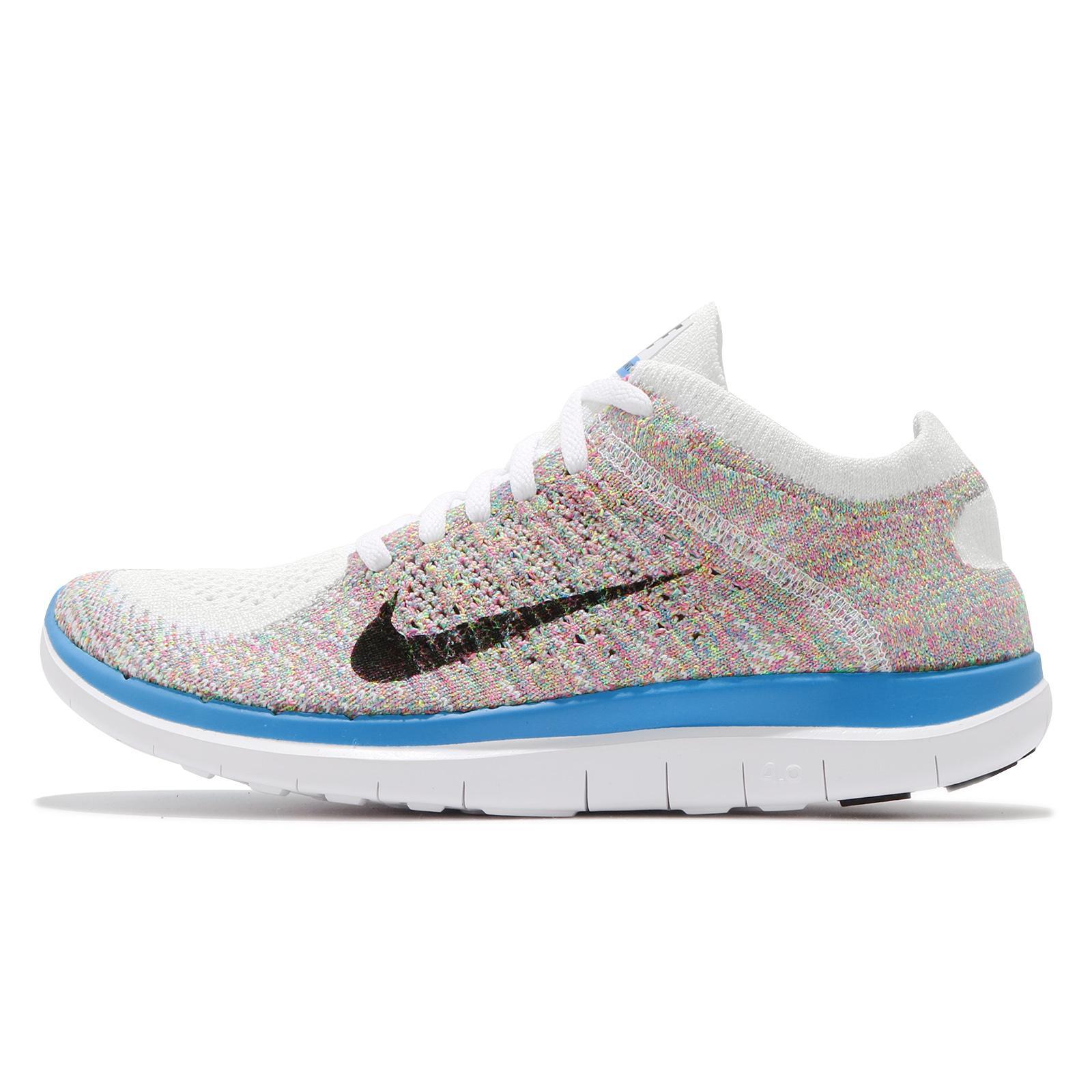 Nike Free Express Running Shoes Rainbow