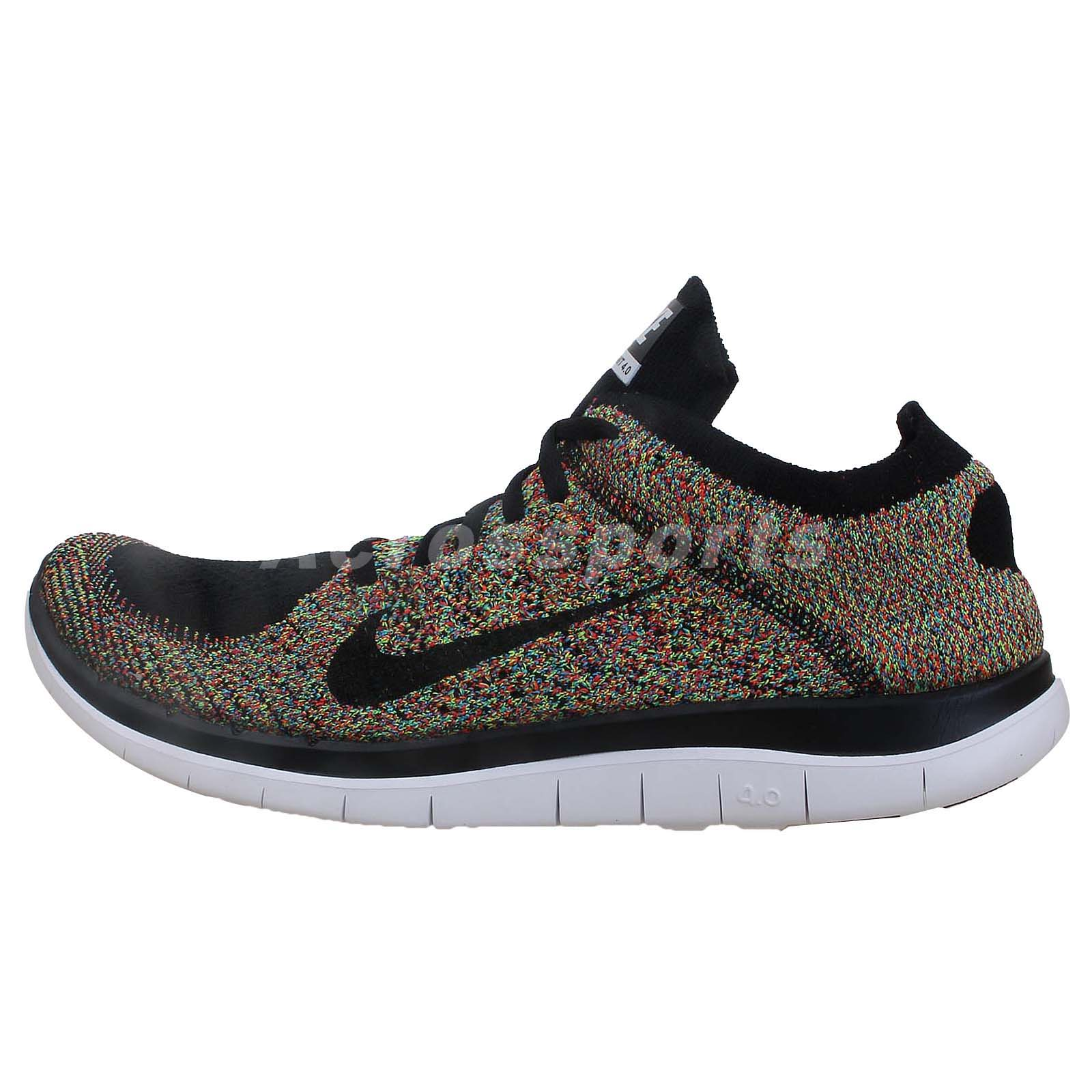 multi color nike free run shoes