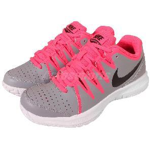 wmns nike vapor court grey pink white womens tennis shoes