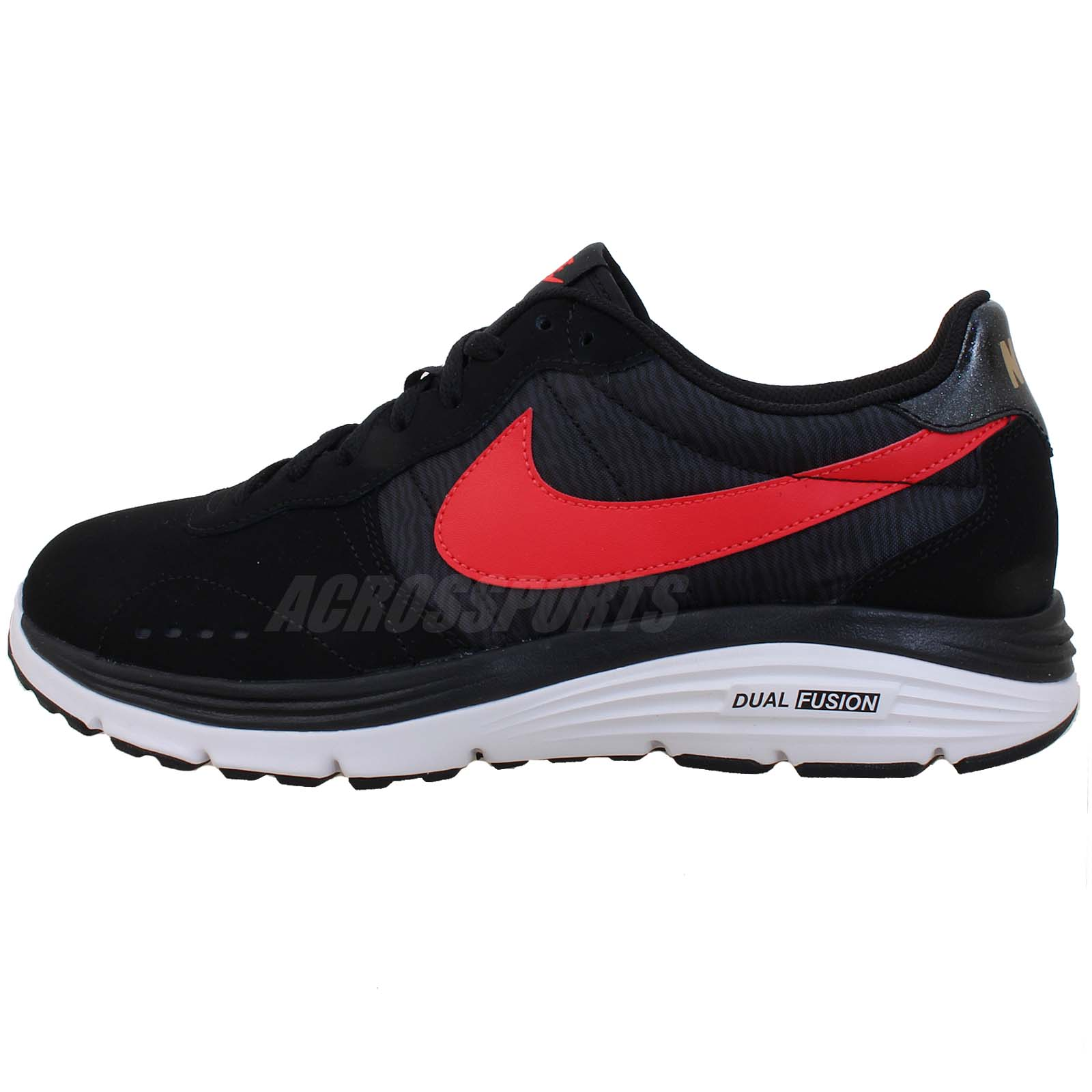 6c2dc8ff1405 Nike Dual Fusion Retro Black Running Shoes