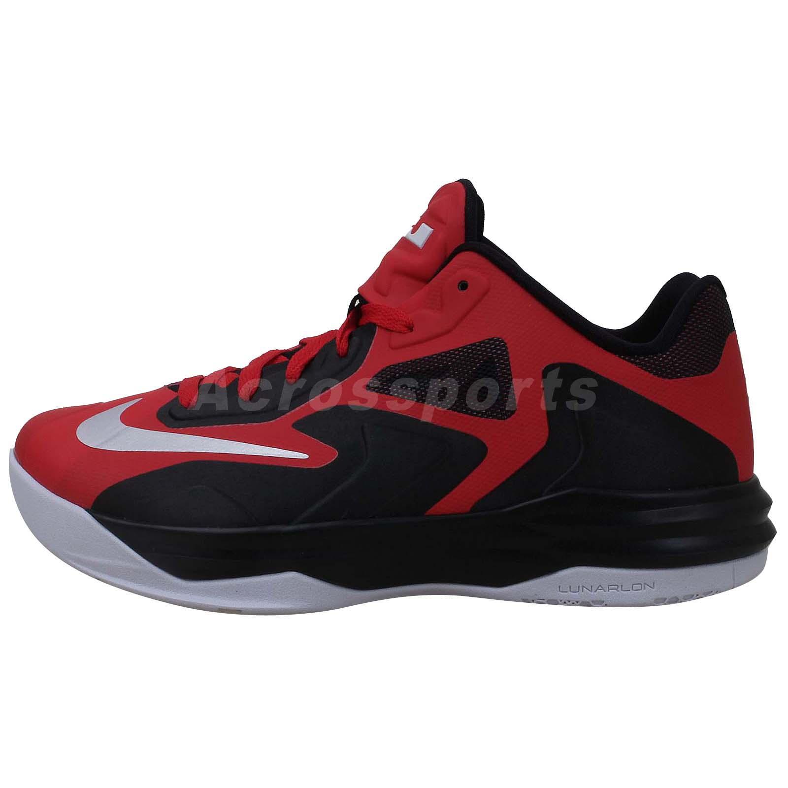 nike lebron st iii 3 red black 2014 new mens basketball