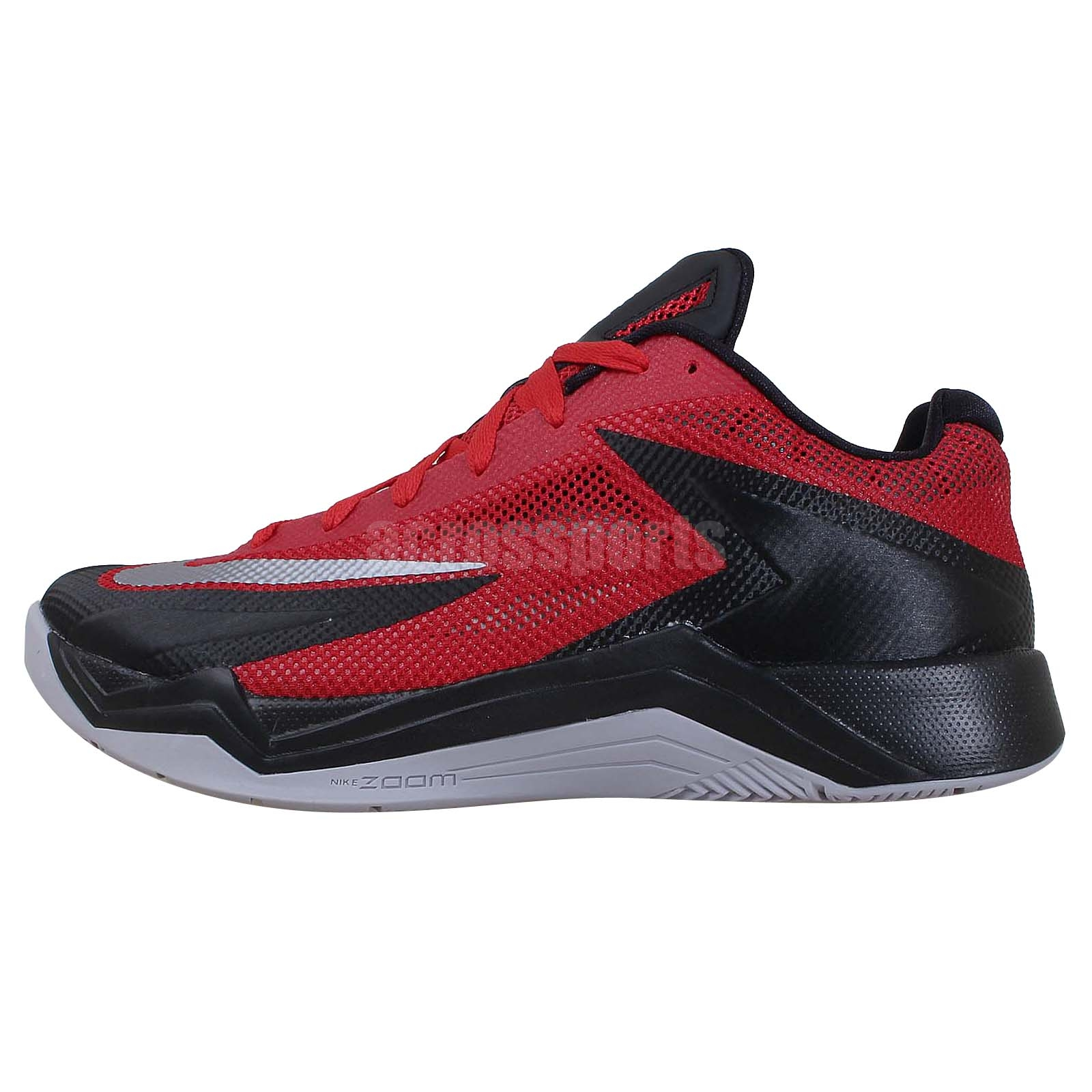 nike zoom fire xdr black red grey 2014 new mens basketball