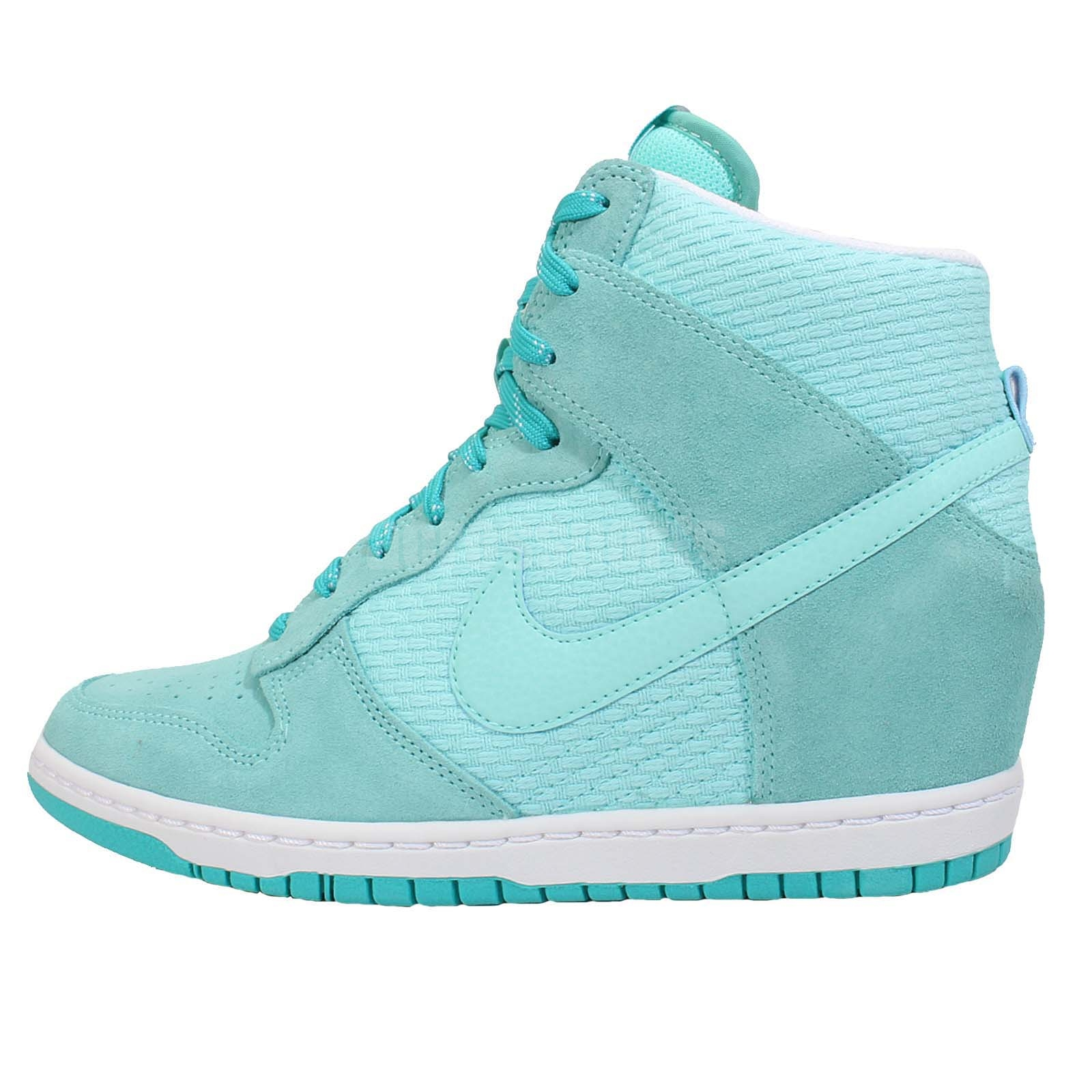 Cool Nike Running Shoe In Blue Teal White Black  Lyst