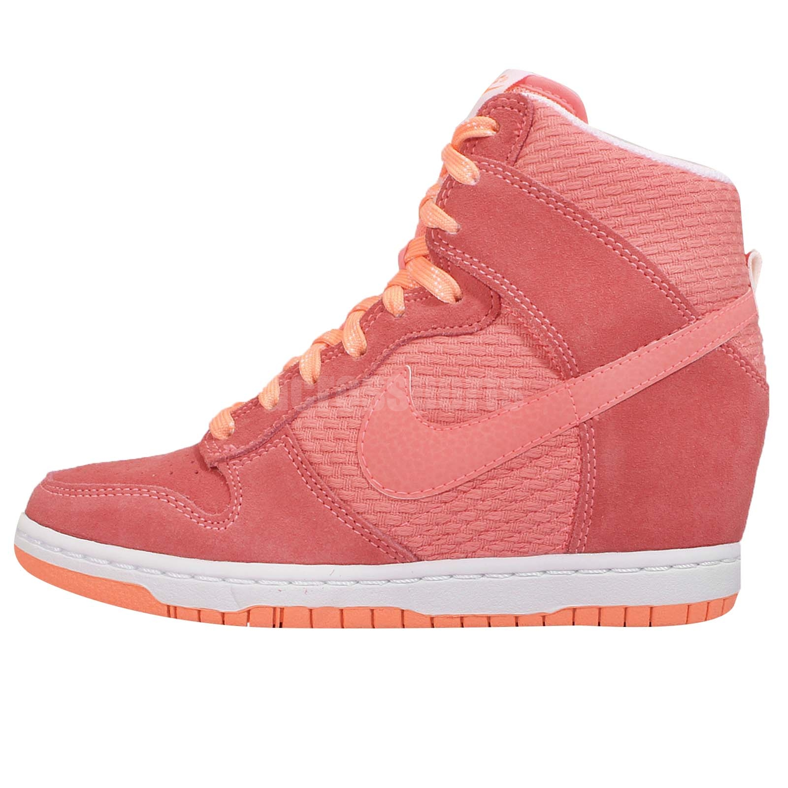nike air dunk pink sneaker wedge