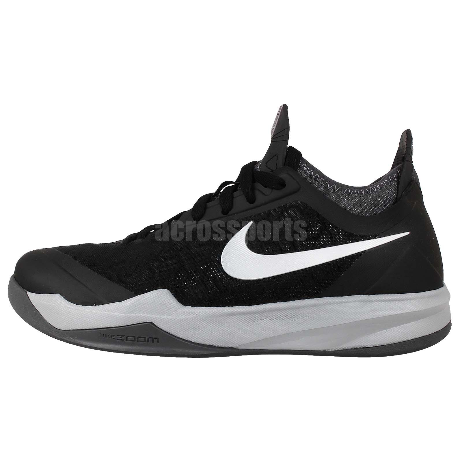 Nike Zoom Crusader XDR Black Silver Mens Basketball Shoes ...