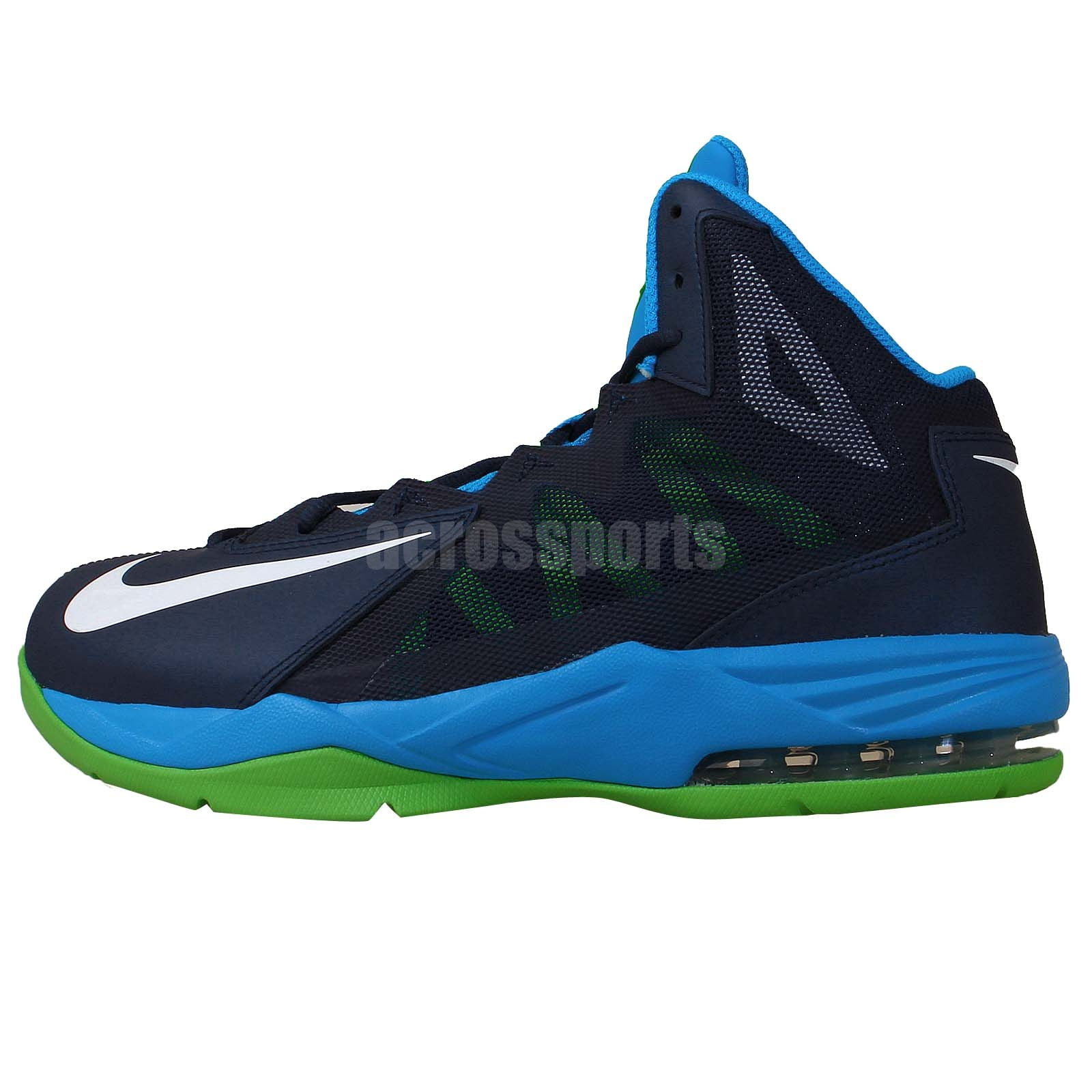 nike air max stutter step 2 navy blue green 2014 mens