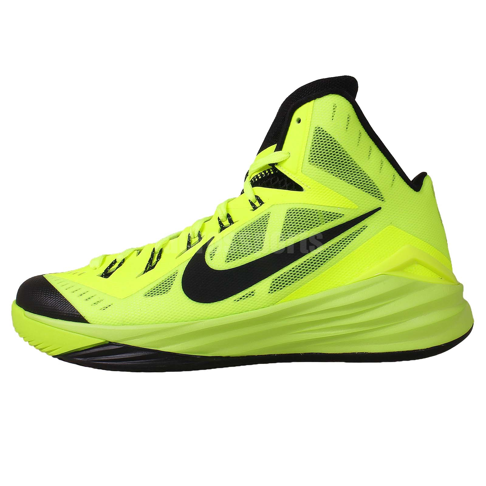 nike hyperdunk 2014 ep volt black mens basketball shoes