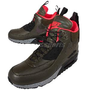 Nike Air Max 90 Sneakerboot WNTR Winter Dark Loden Mens Boots Shoes 684714 300 | eBay