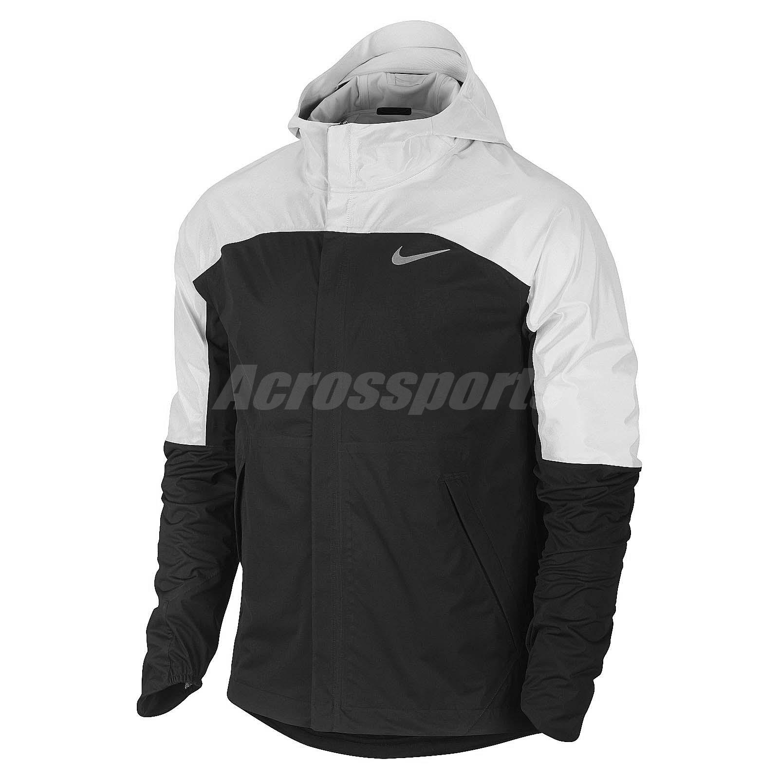 Nike jacket flash - Asian Size Nike As Shieldrunner Flash Mens Windbreaker Jacket Hoodie 688746 010