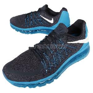 ... men\u0026#39;s nike air max 2015 running shoes dark obsidian white blue lagoon ...
