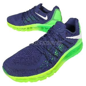 hamxn Nike Air Max 2015 Sprite Blue Green Mens Running Shoes Sneakers