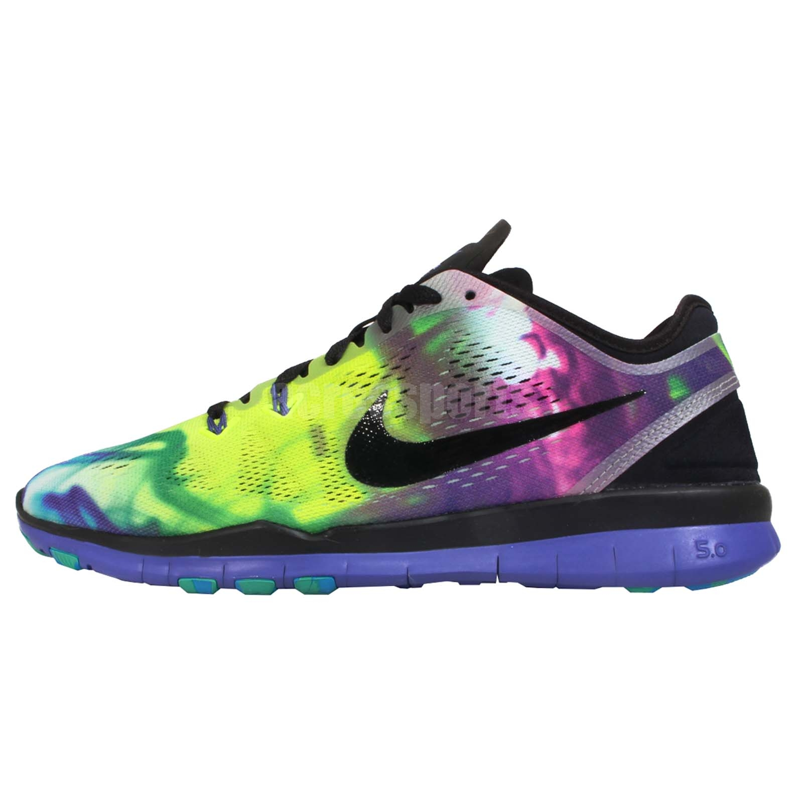 wmns nike free 5 0 tr fit 5 print purple womens cross. Black Bedroom Furniture Sets. Home Design Ideas