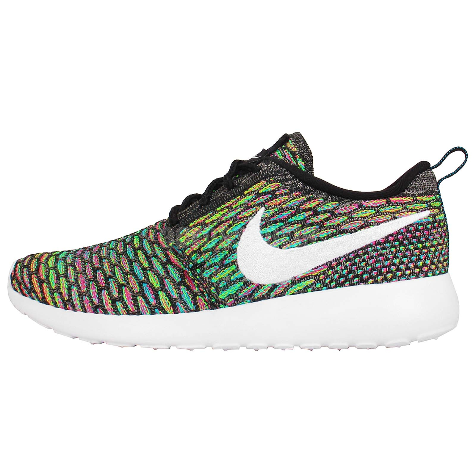 Details about Womens Wmns Nike Rosherun Flyknit Roshe Run Multi Color