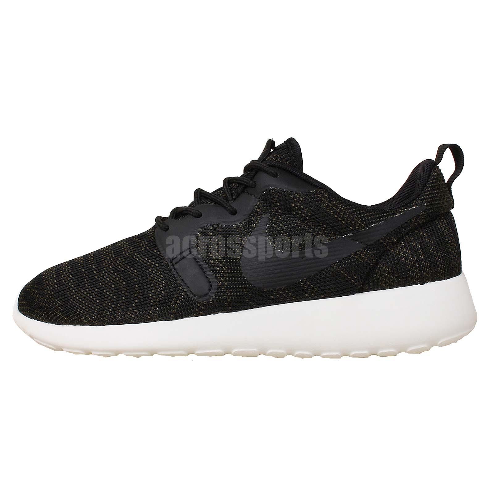 Details about Nike Wmns Rosherun KJCRD Jacquard Roshe Run New Black