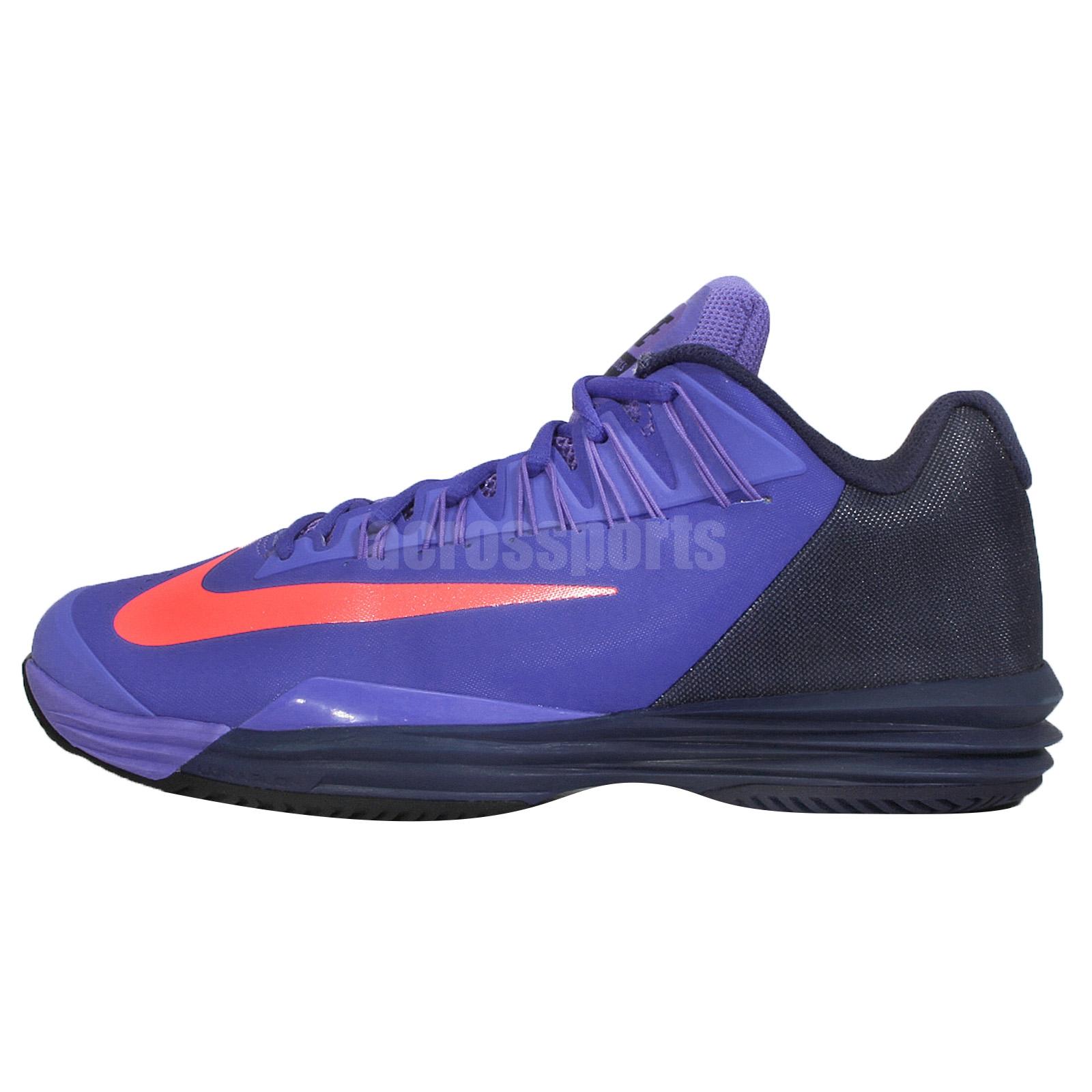 Nike Lunar Ballistec 1.5 XDR Purple Navy Red 2015 Mens Tennis ...