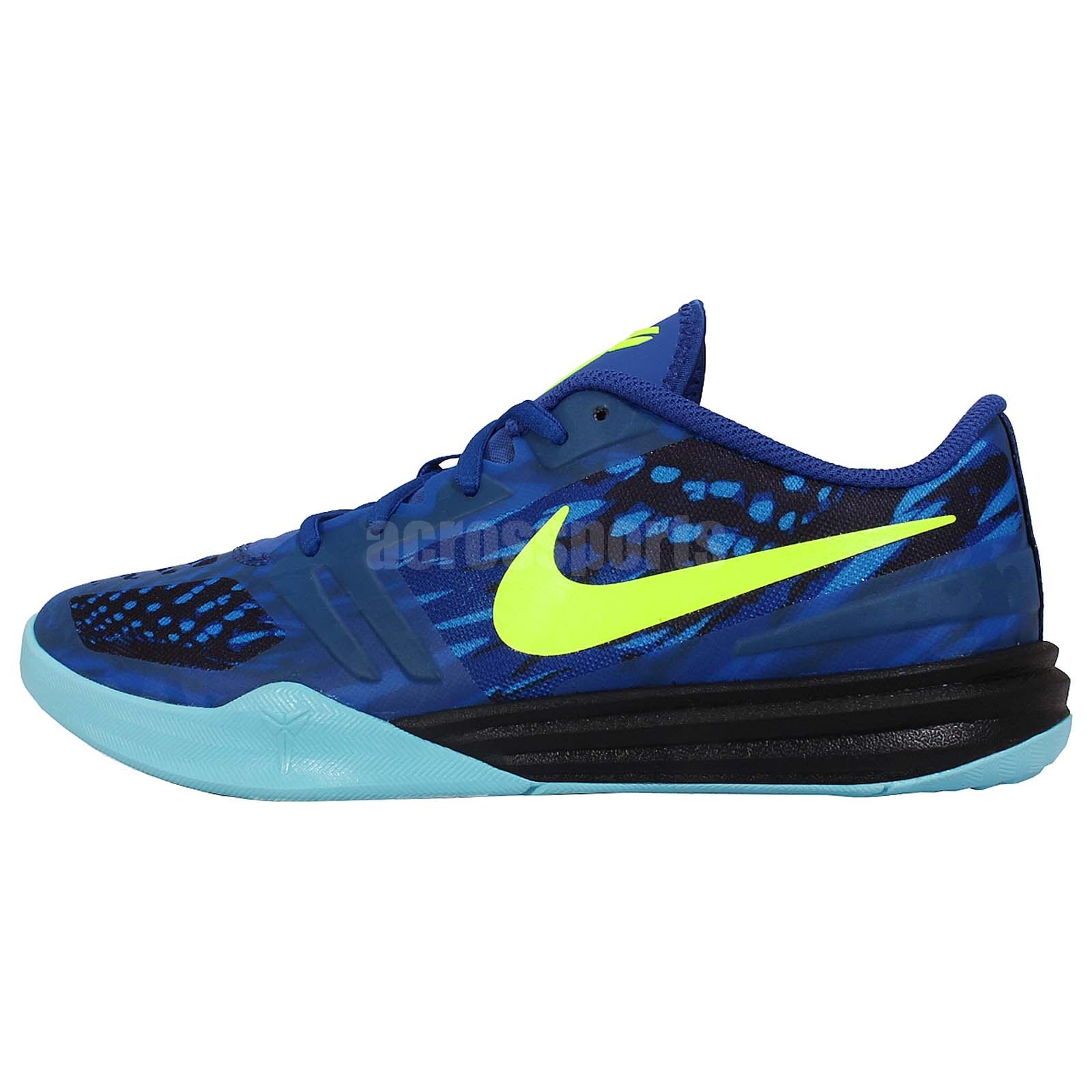 nike kb mentality gs blue volt youth boys basketball