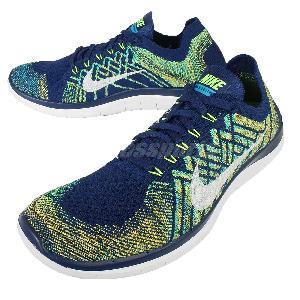 Nike Free 4.0 Flyknit Mens Blue