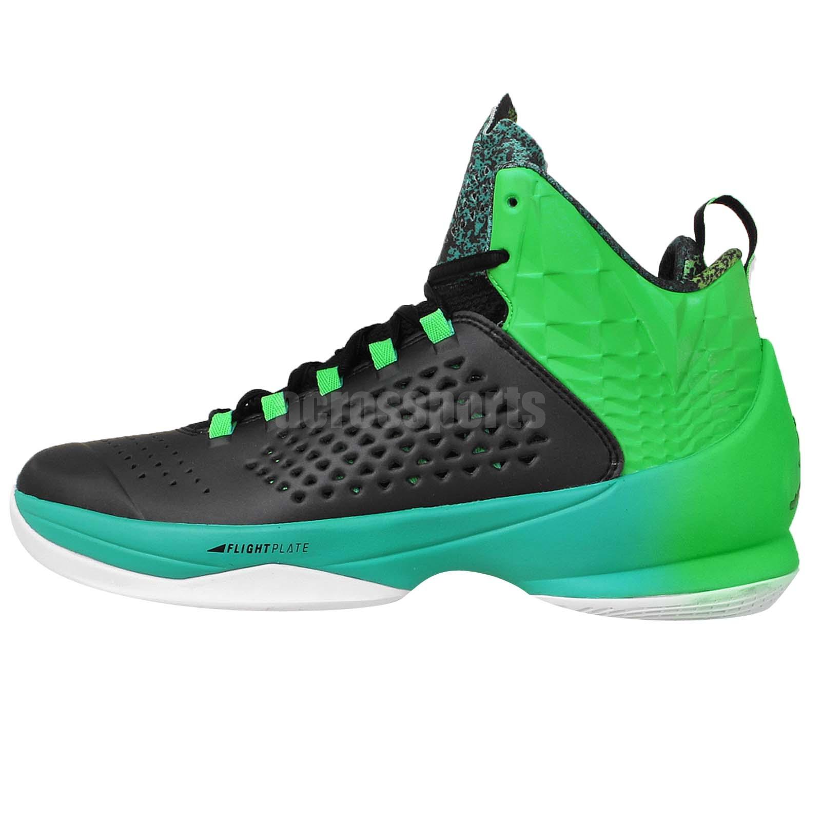 Nike Jordan Melo M11 X Black Green Carmelo Anthony Mens ...