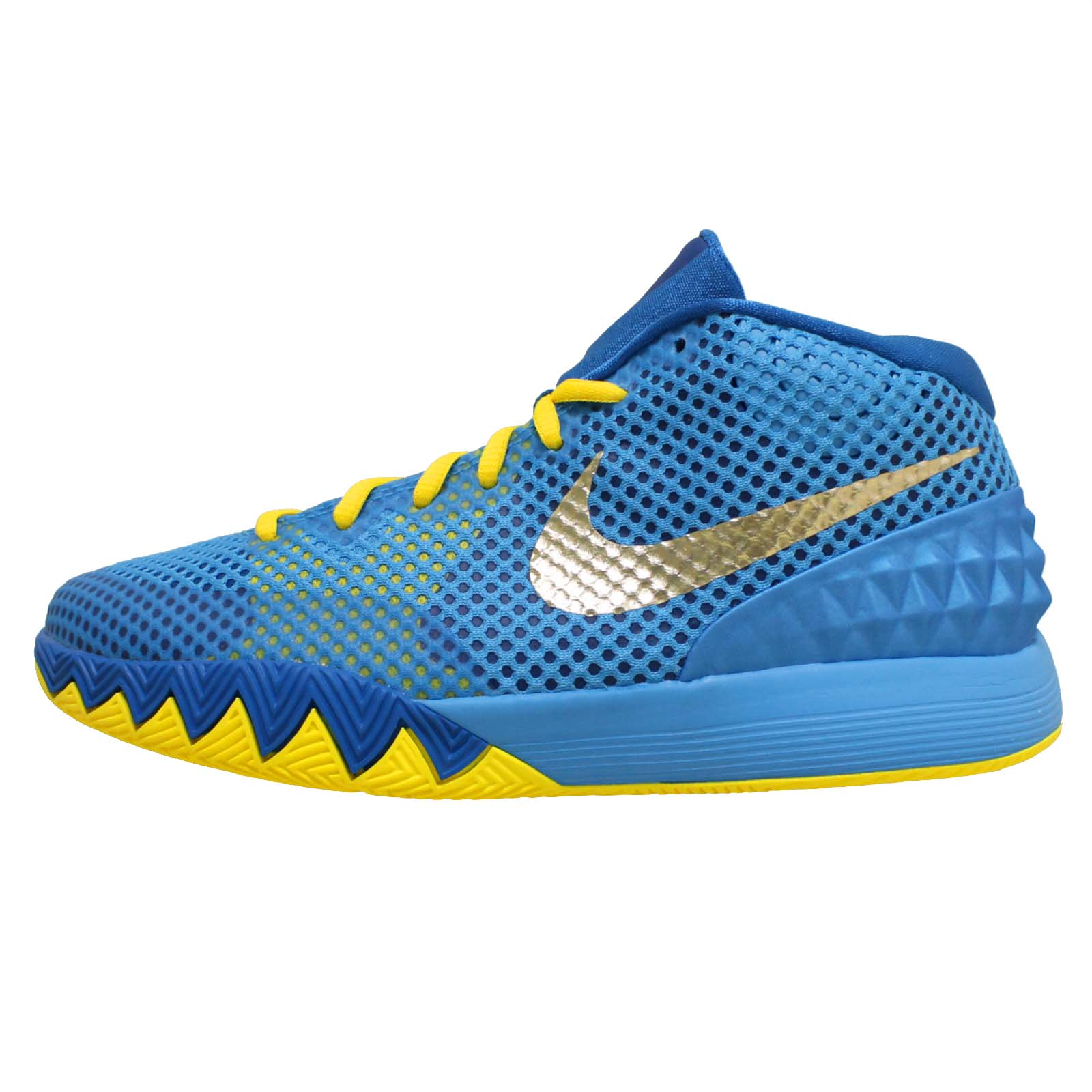 Nike Kyrie 1 GS Kyrie Irving Cereal Blue Gold Youth Boys ...
