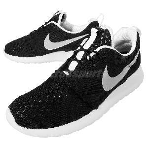 utufi Nike Roshe One BR Breeze Black White Mens Running Shoes Rosherun
