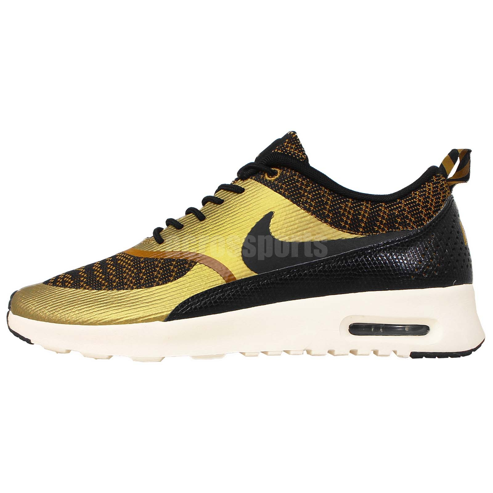 womens wmns nike air max thea kjcrd knit jacquard gold. Black Bedroom Furniture Sets. Home Design Ideas