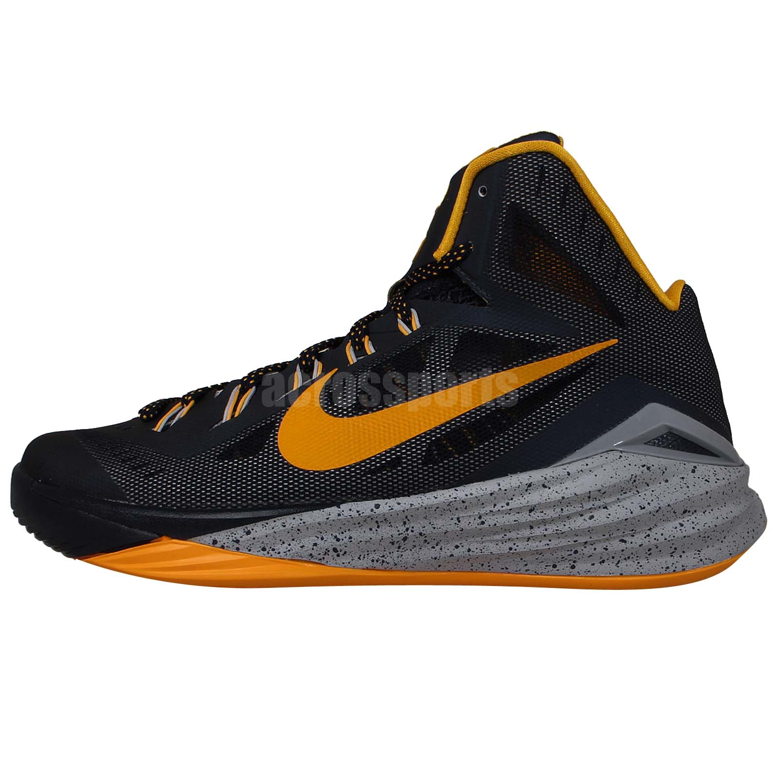 nike hyperdunk 2014 ep pe paul george navy gold basketball