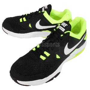sungn Nike Air Max Crusher 2 Black White Volt Mens Cross Training Shoes