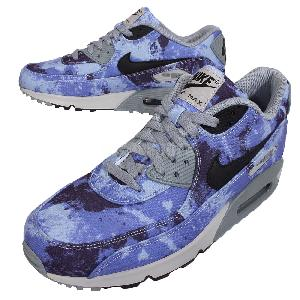 Nike Air Max 90 SD Tie Dye Gradient Persian Violet Mens Running Shoes 724763-500