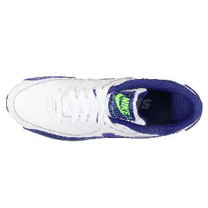 nike pas cher shox turbo - Nike AIR MAX 90 LTR GS Leather White Purple Kids Womens Running ...