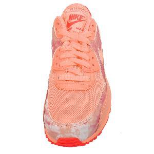 Wmns Nike Air Max 90 Print Pink Orange Sunset Womens Running Shoes 724980-800