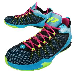 Nike Jordan CP3. VIII AE 8 Chris Paul Blue Pink Mens ...