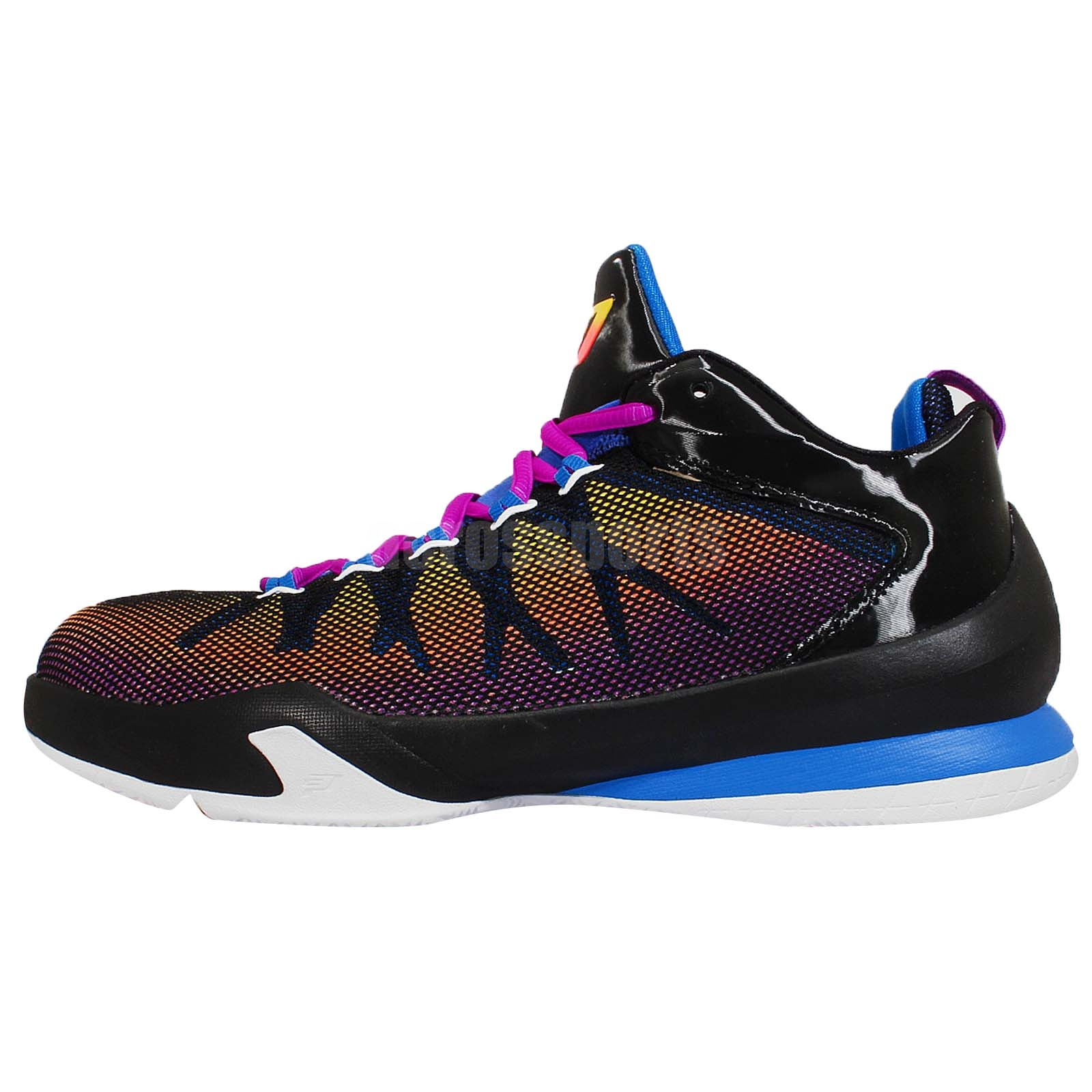 Nike Jordan CP3. VIII AE X 8 Chris Paul Black Mens ...