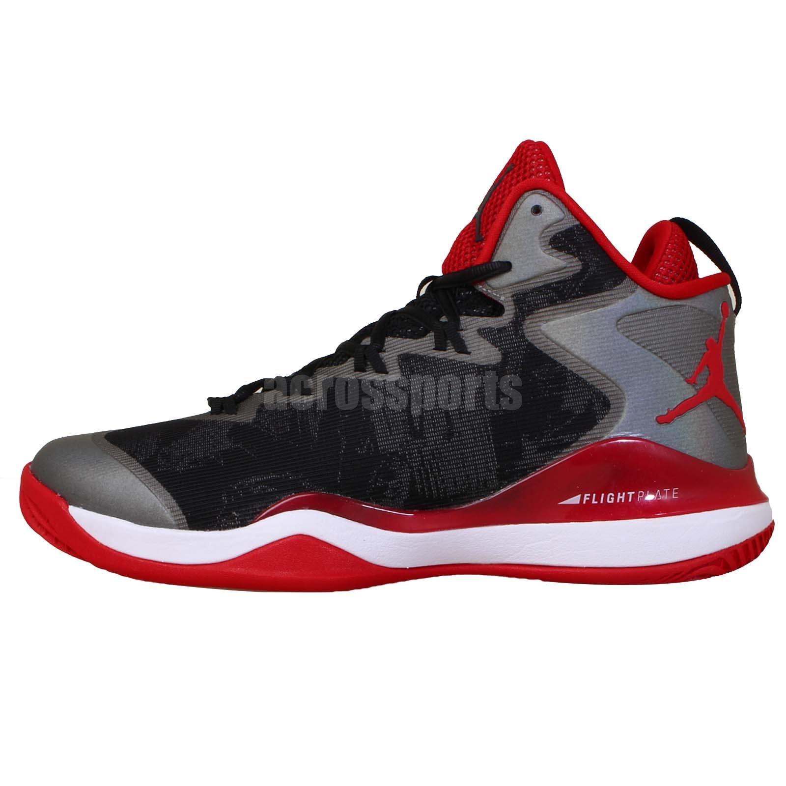 Nike Jordan Super Fly 3 X SLAM DUNK Black Red Mens