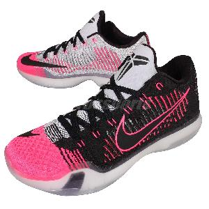 nike x elite low 10 mambacurial black pink mens