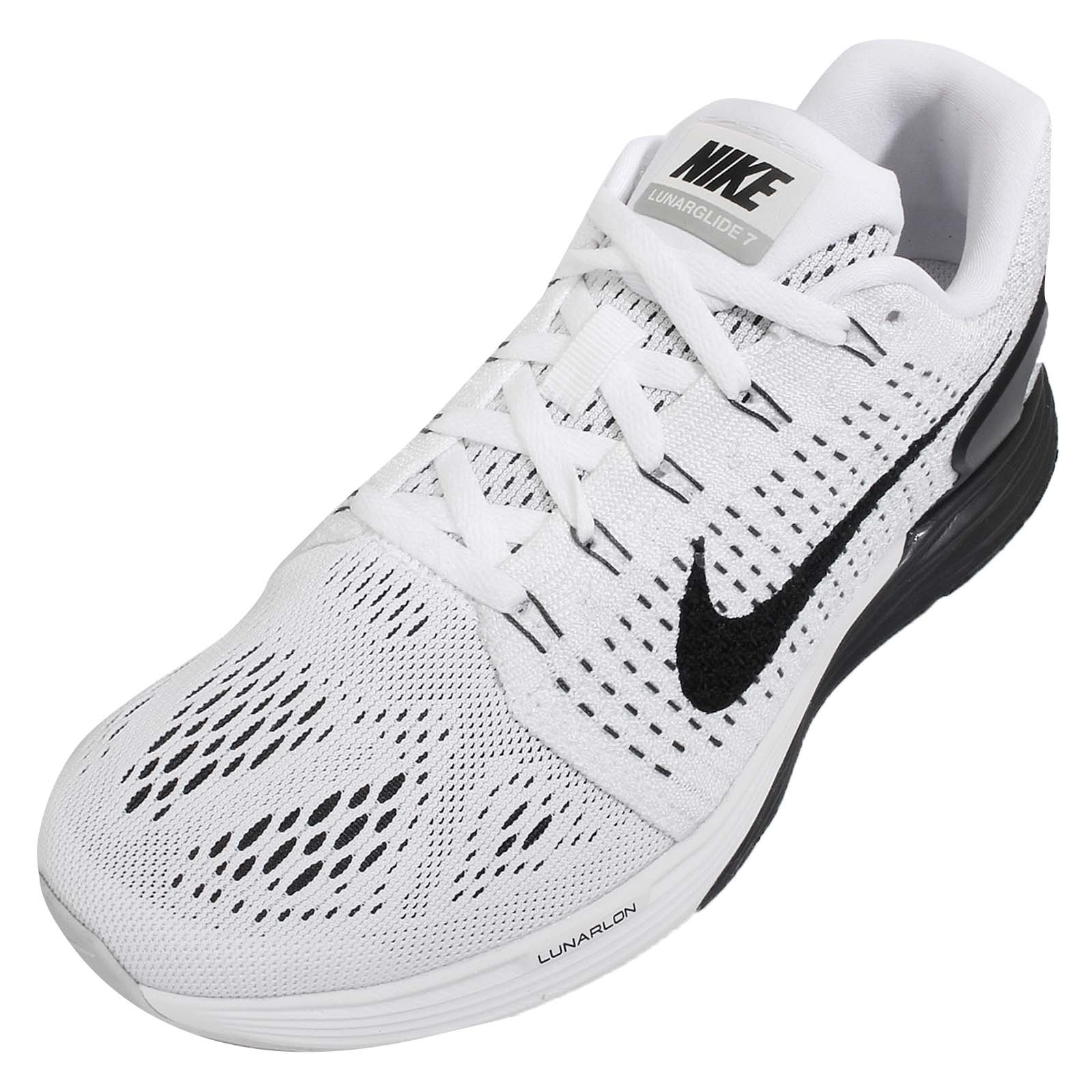 womens nike lunarglide 7 all white