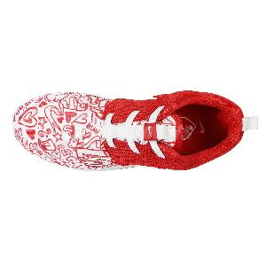 hrslsw Nike Roshe One Print PSV Rosherun White Red Girls Kids Running