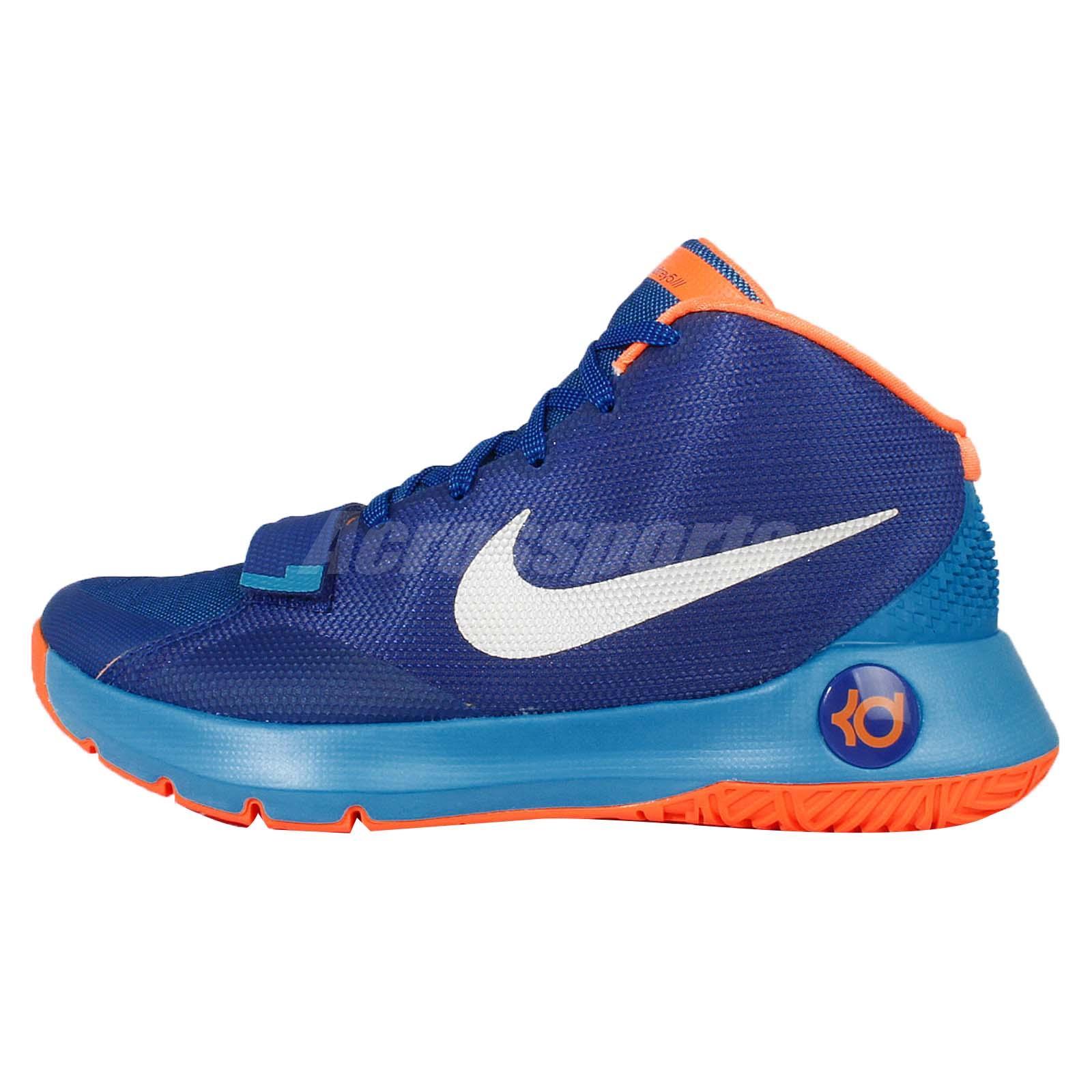 nike kd trey 5 orange blue