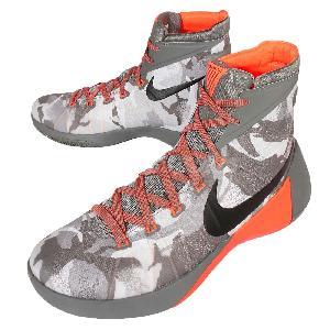 on sale ce894 d527d Nike Hyperdunk 2015 PRM EP Grey Orange Camo Mens Basketball Shoes  749570-001 ...