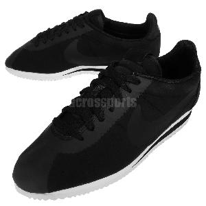 black cortez shoes