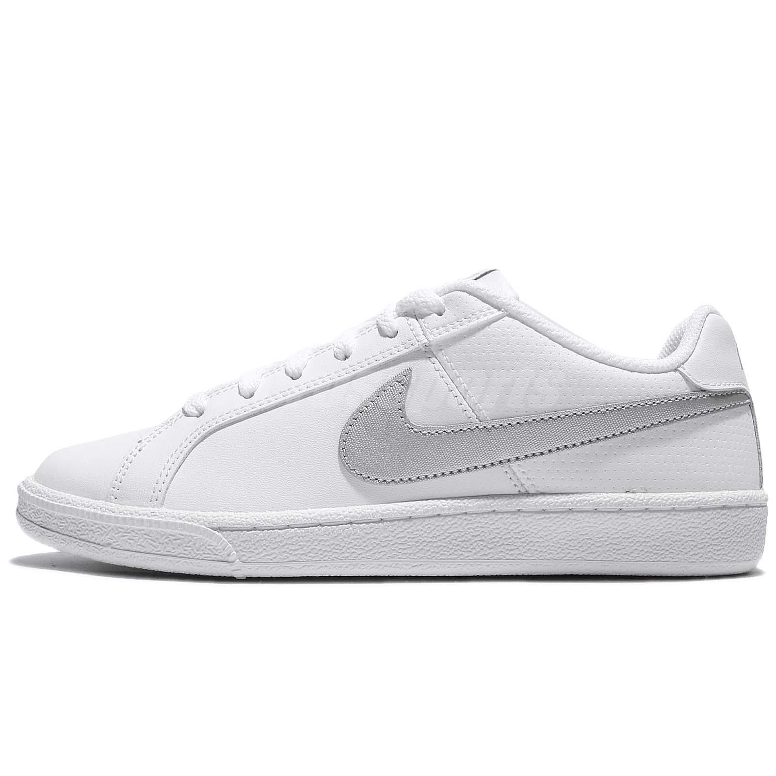 Nike Women S Court Royale Shoes White Silver