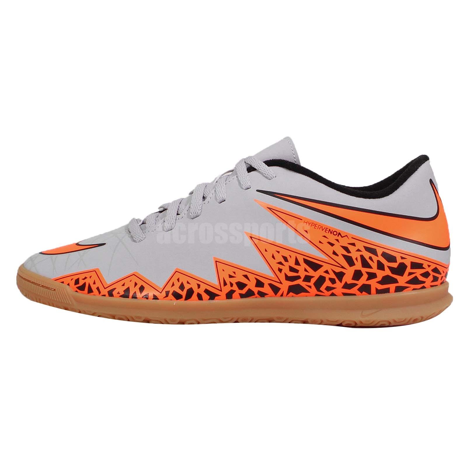 orange nike indoor soccer shoes