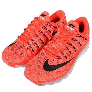 nike shox l'élite des femmes - Wmns Nike Air Max 2016 Orange Black Womens Running Shoes Sneakers ...