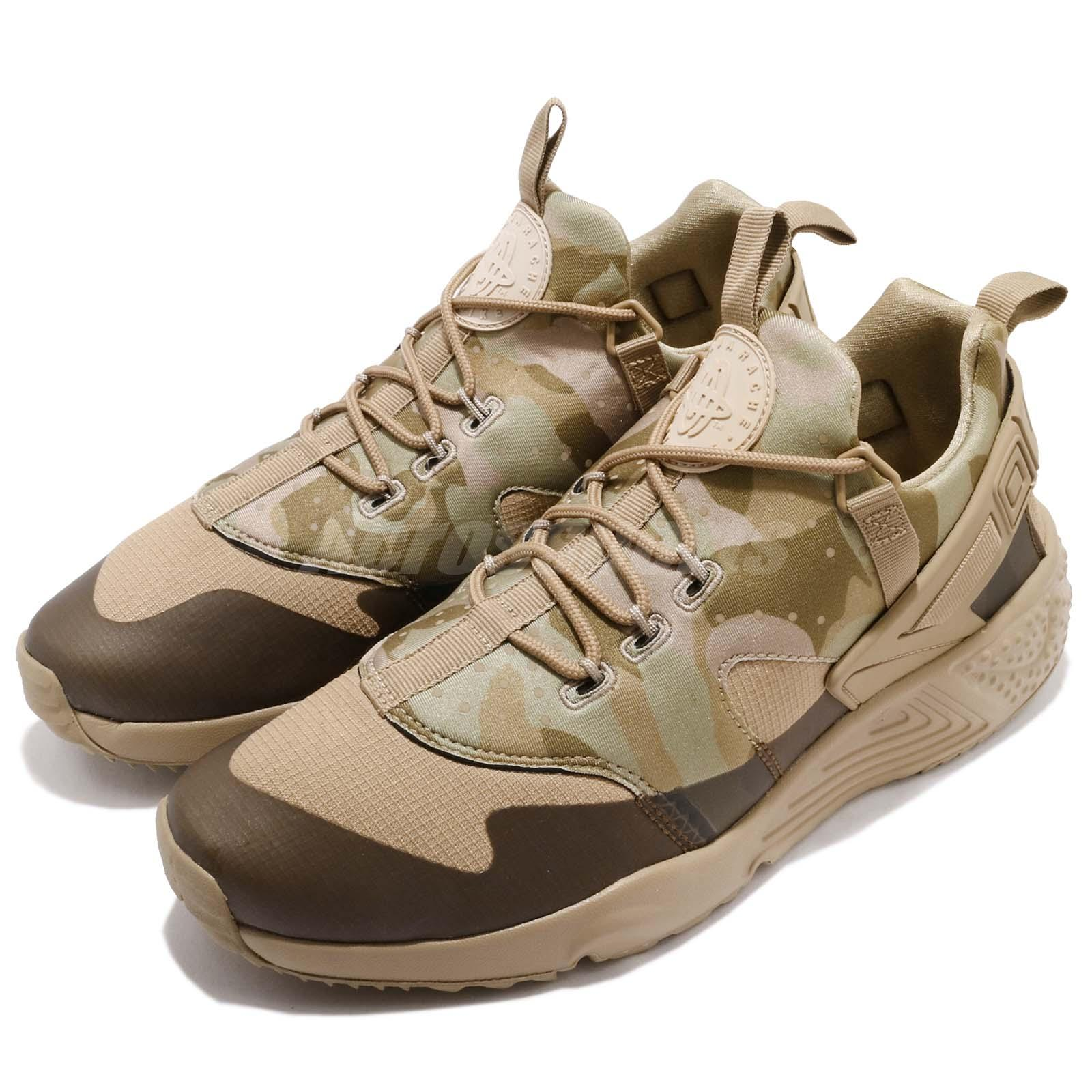 nike air huarache utility desert camo khaki olive mens. Black Bedroom Furniture Sets. Home Design Ideas