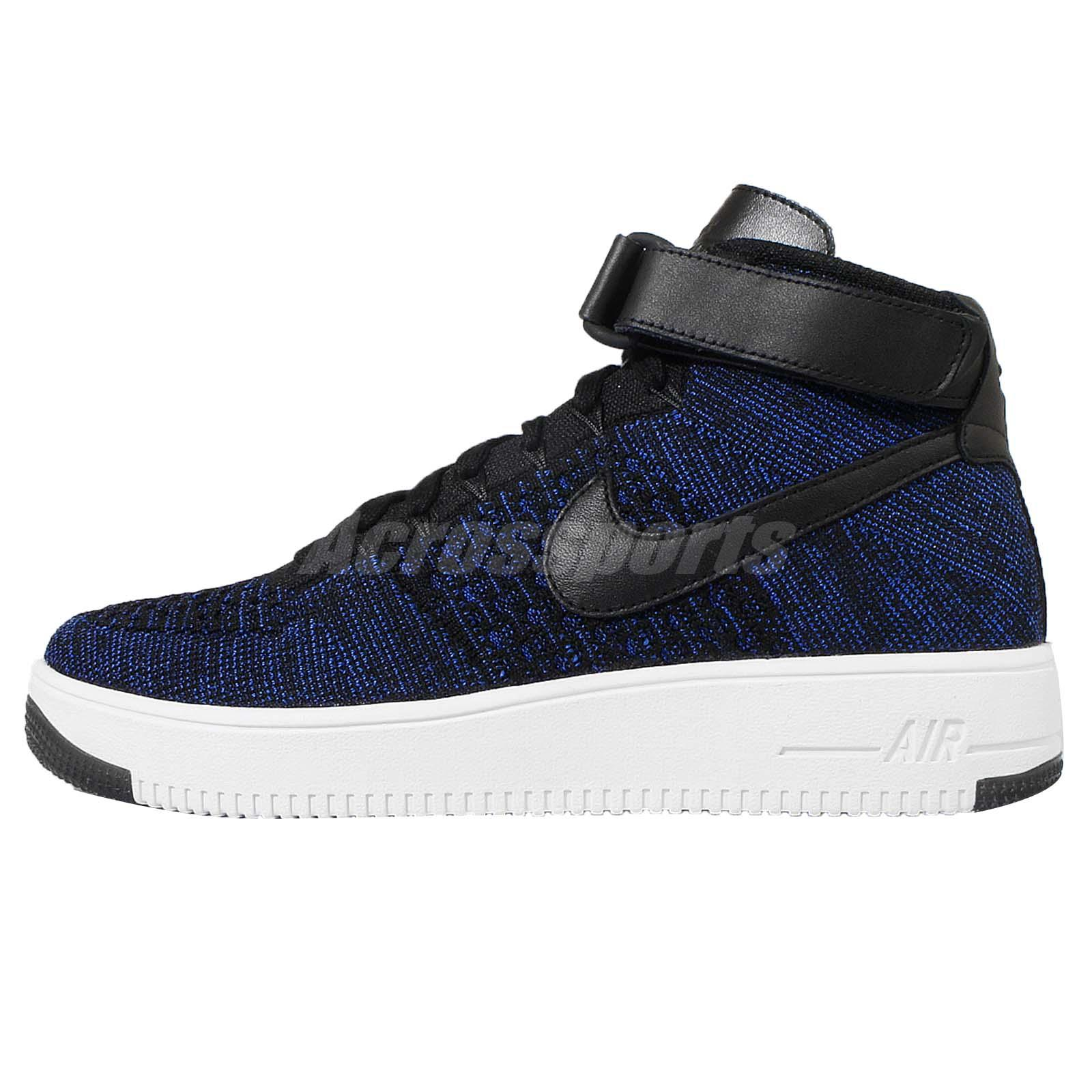 Nike Air Force 1 Ultra Flyknit Mid Game Royal/Black 817420400