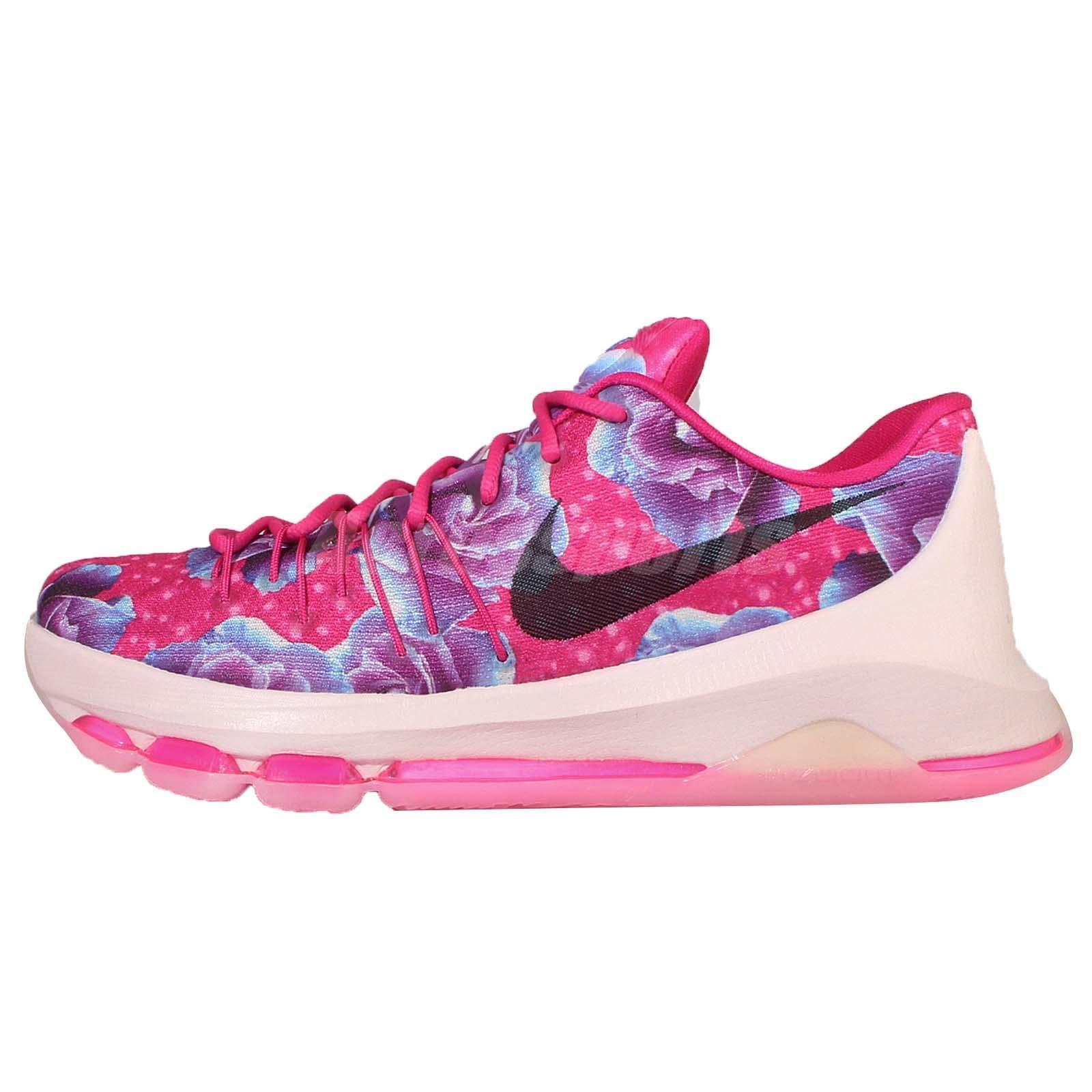 Nike KD 8 PRM EP Aunt Pearl Kay Yow Pink Mens Basketball Shoes 819149-603